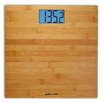 Health o meter® Bamboo Weight Tracking Scale