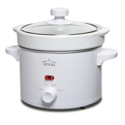 Rival® 2-Quart Slow Cooker