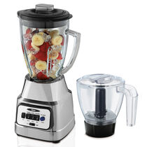 Oster® 8-Speed Blender with Food Processor Attachment - Chrome