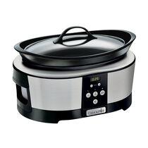 Crock-Pot 5.7L Digital Countdown Slow Cooker, Stainless Steel