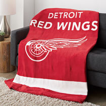 Sunbeam® NHL® Microplush Heated Throw, Detroit Red Wings®