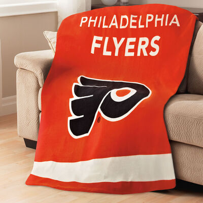 Sunbeam® NHL® Fleece Heated Throw, Philadelphia Flyers®