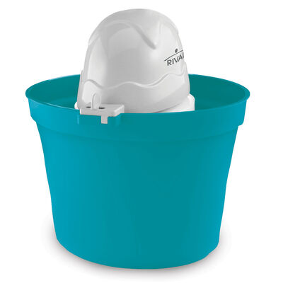 Rival® Ice Cream Maker 2-Quart, Blue