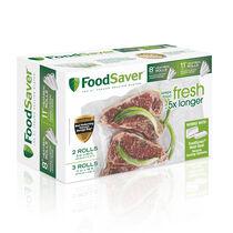 "FoodSaver® 8"" & 11"" Vacuum-Seal Rolls, Multi-Pack"