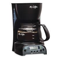 Mr. Coffee® Simple Brew 4-Cup Programmable Coffee Maker Black