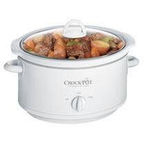 Crock-Pot® 3.5-Quart Manual Slow Cooker, White
