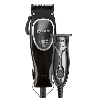 Oster® The Vibe™ & O'Baby™ Magnetic Motor Adjustable Blade Clipper and T-Blade Trimmer Combo Set