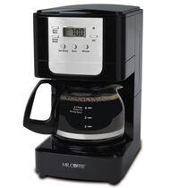 Mr. Coffee® Advanced Brew 5-Cup Programmable Coffee Maker Black/Chrome, JWX3