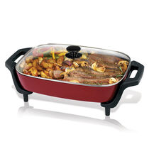 Oster® 12'' X 16'' Electric Skillet, Red