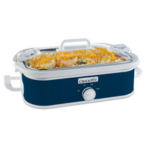Crock-Pot® 3.5-Quart Casserole Crock Slow Cooker, Midnight Blue
