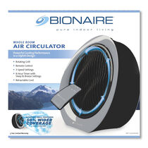 Bionaire®  Remote Control Power Fan with Rotating Grill