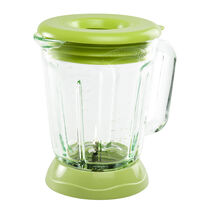 Margaritaville® Plastic Jar with Lid, Lime Green Fits Bahamas™, Key West™ & Fiji™