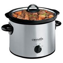 Crock-Pot® 3-Quart Manual Slow Cooker, Silver