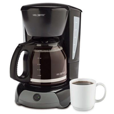 Mr. Coffee® Simple Brew 12-Cup Switch Coffee Maker Black, VB13-NP