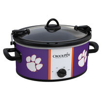 Clemson Tigers Collegiate Crock-Pot® Cook & Carry™ Slow Cooker