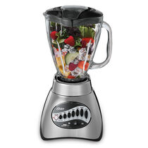 Oster® Precise Blend™ 200 Blender - Brushed Nickel - Glass Jar