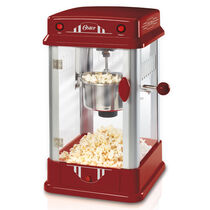 Oster® Old Fashioned Theater-Style Popcorn Maker, Red
