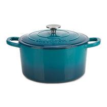 Crock-Pot® Artisan 5-Quart Round Enamel Cast Iron Dutch Oven
