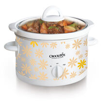 Crock-Pot® Manual Slow Cooker, Daisy Pattern