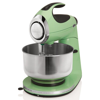 Sunbeam® Heritage Series® Stand Mixer, Seafoam Green