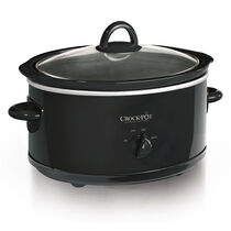 Crock-Pot® 7-Quart Manual Slow Cooker, Black