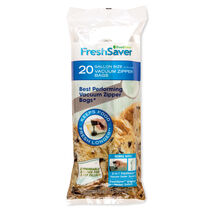FoodSaver® Vacuum Zipper Gallon Bags, 20 Count