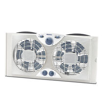Holmes® Dual Blade Window Fan With Comfort Control Thermostat