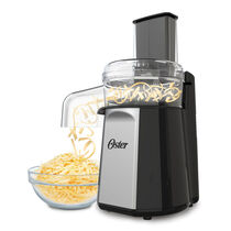 NEW! Oster® Oskar ™ 2-in-1 Salad Prep & Food Processor, Black