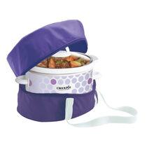 Crock-Pot® Slow Cooker Travel Bag, Royal Purple