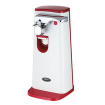 Oster® Accentuate Extra Tall Can Opener, Red