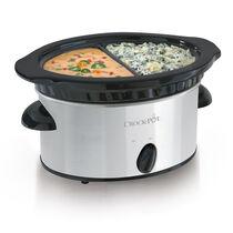 Crock-Pot® Double Dipper™ Food Warmer, Stainless Steel