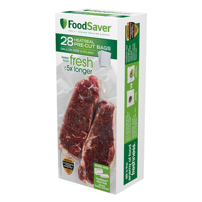 FoodSaver®  28 Vacuum-Seal Bags - Gallon Size