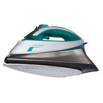 Sunbeam® turbo STEAM™ Iron, Green, Silver & Chrome