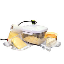 FoodSaver® Rectangular Canister with Bonus Cheese Grater