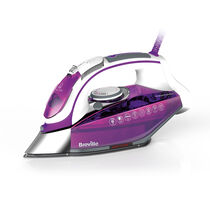 Press Xpress 2800w Steam Iron, Ceramic Soleplate