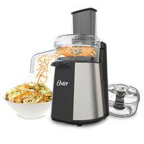 NEW! Oster® Oskar™ 2-in-1 Salad Prep & Food Processor, Stainless