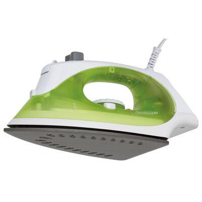 Sunbeam® Simple Press™ Iron, White & Green
