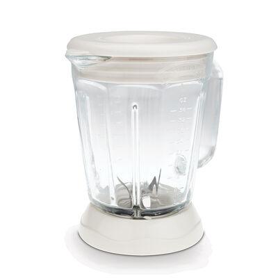 Margaritaville® Glass Jar with Lid, White