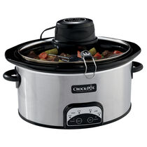 Crock-Pot® Digital Slow Cooker with iStir™ Stirring System, Stainless