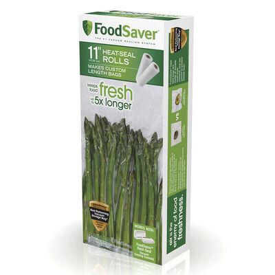 "FoodSaver® Heat-Seal Roll, 11"" x 16', 2 Pack"
