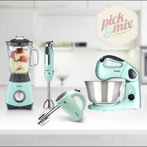 Pick & Mix Collection, Pistachio - Hand Mixer, Hand Blender, Jug Blender & Food Mixer