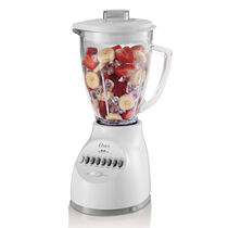 Oster® 14-Speed Blender with Blend-N-Go® Cup - White