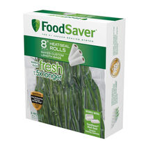 "FoodSaver® 8"" x 20' Heat-Seal Roll, 3 Pack"