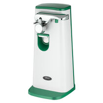 Oster® Accentuate Extra Tall Can Opener, Green