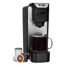 Mr. Coffee® Single Cup K-Cup® Brewing System with Reusable Grounds Filter, 10 ounces
