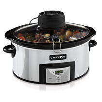NEW! Crock-Pot® 6-Quart Digital Slow Cooker with iStir™ Stirring System