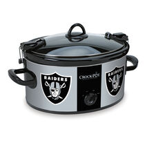 Oakland Raiders NFL Crock-Pot® Cook & Carry™ Slow Cooker
