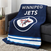 Sunbeam® NHL® Microplush Heated Throw, Winnipeg Jets®