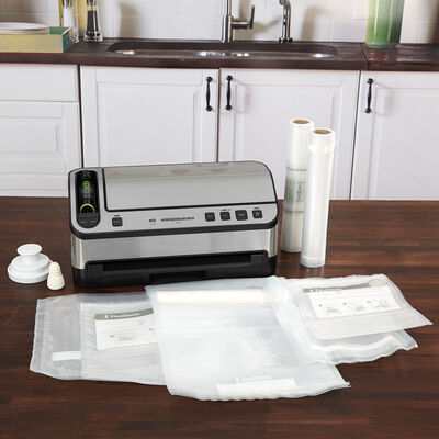 The FoodSaver® V4865 2-In-1 Vacuum Sealing System