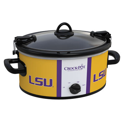 Louisiana State Tigers (LSU) Collegiate Crock-Pot® Cook & Carry™ Slow Cooker